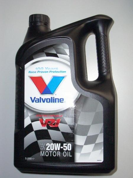 Valvoline Vr1 Racing Sae 20w 50 Neuer 5 Ltr Kanister