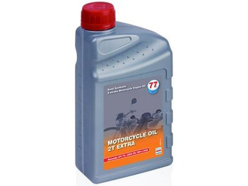 77 Lubricants MOTORCYCLE OIL 2T Extra -  1 ltr. Dose
