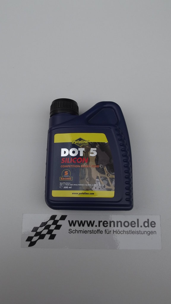 Putoline DOT 5 Silcon Brake Fluid  -    500 ml Dose