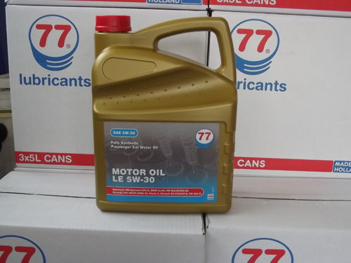 77 Lubricants - MOTOR OIL LE SAE 5W-30 - 5 ltr.